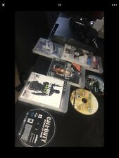 PS3 with 8 games