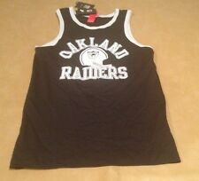 NWT Nike NFL Oakland Raiders Mens Tank Top Sptcas Size Small Black NEW