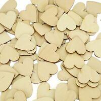 Wooden Love Hearts Shaped Wedding Guest Book Dropbox Signature Message Drop Box