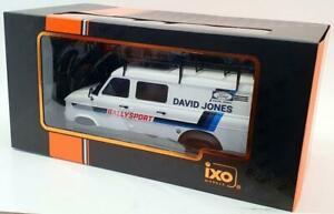 IXO 18RMC033XE FORD TRANSIT MK.II Rally assistance 1979 David Jones model 1:18th