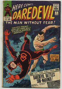 Daredevil 7 First Classic Costume Battles Sub-Mariner