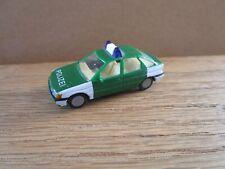 Praline Ho Ford Escort Ghia Polizei Police Car 1/87