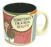 Disney Parks Ceramic Mug Cup Beauty and The Beast Standard Size NWOT