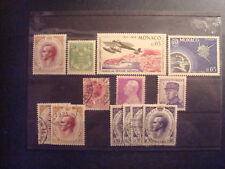 LOT DE TIMBRES DE MONACO  VOIR DESCRITION