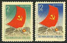 Viet Nam 110-111, MI 114-115, MNH. Vietnamese Workers' Party. Boat, 1960