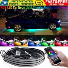 Rgb Led Underbody Car Neon Light Chassis Atmosphere Lamp Light App Control