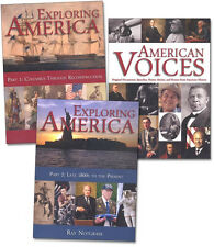 Notgrass Exploring America -High School History Set - NEW 2014 Hardcover Edition