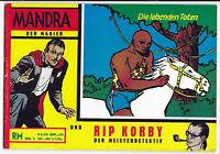 Mandra und Rip Korby Nr.2 von 1965 - TOP Z1 ORIGINAL COMICHEFT
