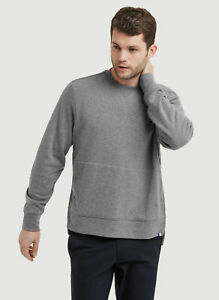 Kit And Ace Lululemon Men's Terry Pullover Sweater Heather Gray XL NWT $148