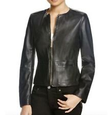 Hugo Boss Ladies Leather Jacket (Size 36)              RRP £480