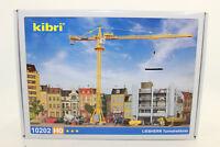 Kibri 10202 LIEBHERR Grue à tour 63 EC 1:87 H0 neuf emballage d'origine