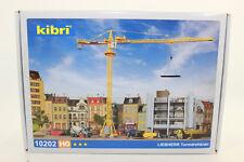 Kibri 10202 Liebherr Tower Crane 63 Ec 1:87 H0 New Original Packaging