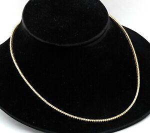14K yellow gold elegant high fashion 8.92CT diamond Riviera line necklace
