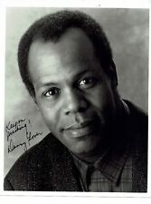 Danny Glover American Actor  Lethal weapon Hand Signed Photograph 10 x 8
