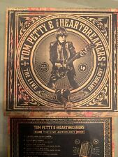 RARE TOM PETTY AND HEARTBREAKERS - Live Anthology 4 Cd Box Set OOP & HTF 4 CD's