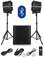 PRORECK Club 4000 18-inch 4000W P.M.P.O Stereo DJ/Powered PA Speaker System