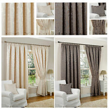 Polyester Floral Curtains & Pelmets with Pencil Pleat