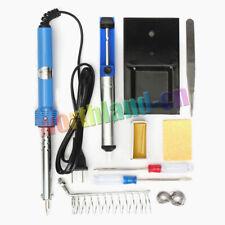 9IN1 60W Welding Soldering Iron Gun Electric Adjustable Temperature Solder Tips