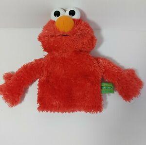 """GUND 12"""" 2011 Sesame Street Elmo Hand Puppet VERY CLEAN"""