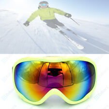 Frameless Winter Snow Snowboard Snowmobile Ski Goggles Anti Fog UV Double Lens