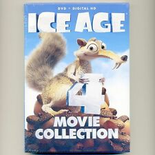 Ice Age 1 2 Meltdown 3 Dinosaurs 4 Continental Drift PG animated movies set DVDs