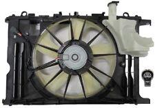 New Dual Radiator & Condenser Fan FOR 2014 2015 Toyota Corolla