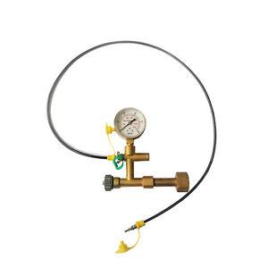 Nitrogen Gas Charging Hydraulic Breaker Hammer kit for Atlas Copco Krupp