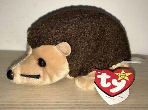 BNWT! TY Beanie Baby Prickles the Hedgehog DOB February 19th 1998