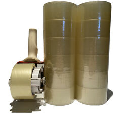 """12 Rolls Clear Packing Packaging Carton Sealing Tape 2.0 Mil Thick 2""""x 110 Yards"""