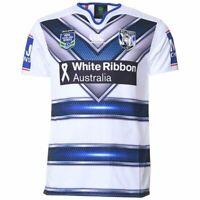 CANTERBURY AUTHENTICS NRL Men's Bulldogs Auckland Nines Jersey Sizes S - 3XL