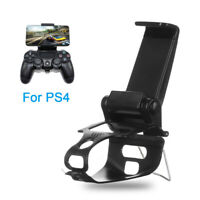 Clip Gamepad Mount Stand Handle Bracket Phone Holder For PS4 Playstation 4