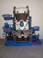 Fisher Price Imaginext Police Robot Robocop cop base headquarters lights sounds