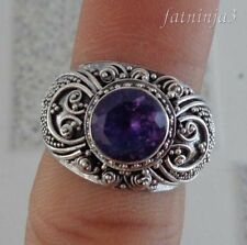 Band Amethyst Handcrafted Rings