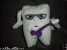 RARE DENTIST COLUMBIA DENTAL PLUSH DOLL FIGURE TOOTH CURTO NOVELTY TOY MASCOT