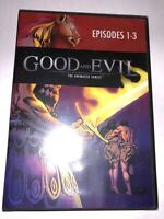 NEW Good and Evil: The Animated Series Episodes 1-3 DVD SEALED