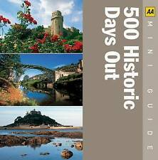 """AS NEW"" AA Publishing, 500 Historical Days Out (AA Mini Guides), Book"