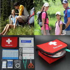 639F 11pcs Family First Aid Kit Set Rescue Outdoor Emergency Bag Case Survival*