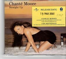 (FP55) Chante Moore, Straight Up - 2001 DJ CD