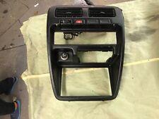 1995-1997 nissan hardbody pick up black radio dash trim bezel w/ vents OEM 1996
