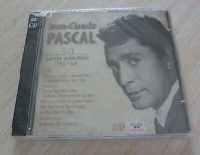 2 CD ALBUM SUCCES ESSENTIELS 1955 1963 JEAN CLAUDE PASCAL 50 TITRES 2014 NEUF