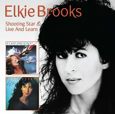 ELKIE BROOKS - Shooting Star & Live & Learn - 2 on 1 CD