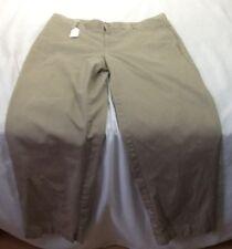 St881 Lands'End Kids Girls Khaki Pants Size 11