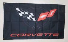 Corvette C5 Banner 3x5 Ft Garage Wall Decor Flag Chevrolet Chevy Sting Ray Vette