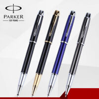 Business Full Metal Parker IM Rollerball Pen 0.5mm Nib Gold/S Clip Office School