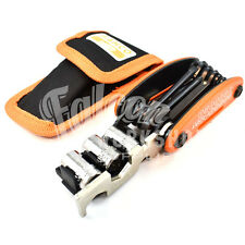 BAHCO MULTI BIKE POCKET TOOL & CARRY POUCH TOOL KIT 17 DIFFERENT TOOLS