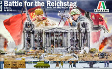 Schlacht um Berlin 1945 Diorama Set 1:72 Model Kit Bausatz Italeri 6195