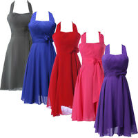 SUMMER~~ Vintage 50s Prom Bridesmaids Dresses Cocktail Short Party Evening Gown