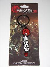 "Gears of War 3 METAL ""Logo"" Keychain/Porte Clé VERY RARE"