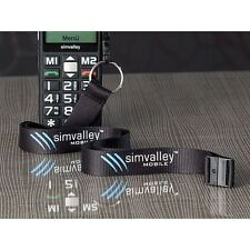 Simvalley Neck Strap with Target Connection for Mobile Telephone