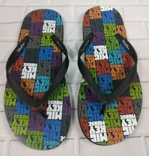 Mickey Mouse Flip Flops Mens 10